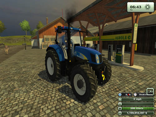 Farming Simulator 2013 New Holland New Holland t 6080 Farming