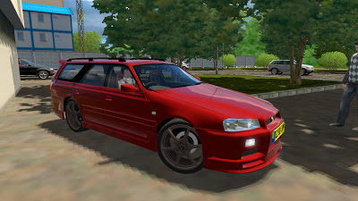 Nissan Stagea – 1.2.5 City Car Driving Simulator Cars Mods City Car Driving Simulator 1 2 2