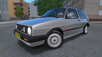 VW Golf GTi Mk2 v1.3 – 1.2.5 City Car Driving Simulator Cars Mods City Car Driving Simulator 1 2 2