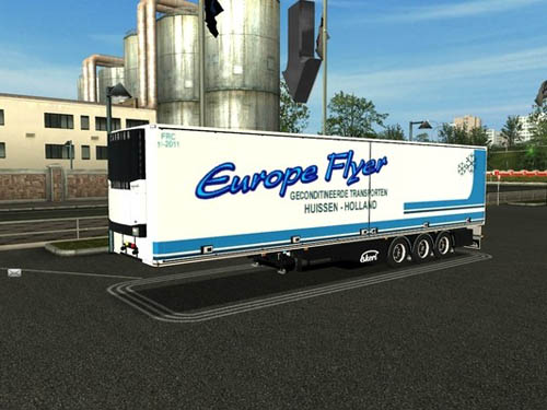 EkerI Holland Trailer [GTS ] German Truck Simulator Trailers German Truck Simulator