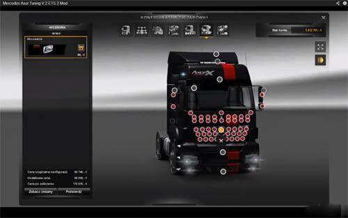 Mercedes Benz Axor Tuning II [ETS 2] Euro Truck Simulator 2 Truck Euro Truck Simulator 2 2
