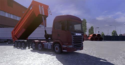 Arslan Damper Trailer [ETS 2] Euro Truck Simulator 2 Trailers Euro Truck Simulator 2 2