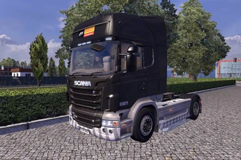 Scania Stobart Pirelli [ETS 2] Euro Truck Simulator 2 Truck Euro Truck Simulator 2 2