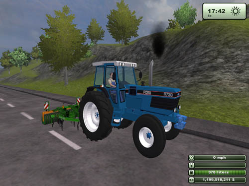 Farming Simulator 2013 Ford 8710 Tractor » Simulator Games Mods