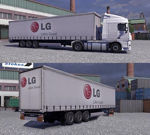 LG Trailer [ETS2] Euro Truck Simulator 2 Trailers Euro Truck Simulator 2 2
