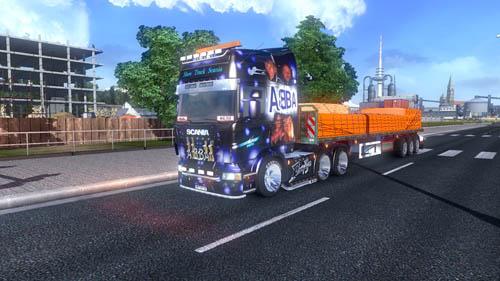 Scania Show Abba [ETS 2] Euro Truck Simulator 2 Truck Euro Truck Simulator 2 2