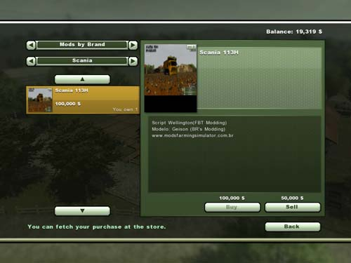 Fs2013 – Scania 113H Truck   Simulator Games Mods Download