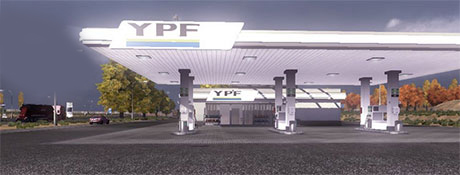 Gas Station YPF [ETS 2] Euro Truck Simulator 2 Other Euro Truck Simulator 2 2