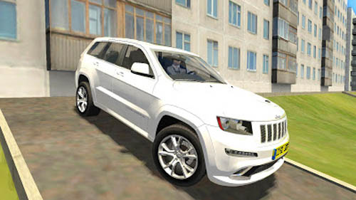 Jeep Grand Cherokee SRT8   1.2.5 City Car Driving