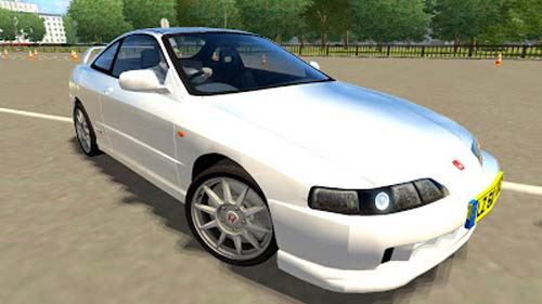 Honda Integra R 2000   1.2.5 City Car Driving