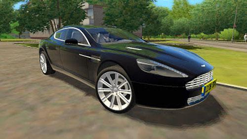 Aston Martin Rapide 1 2 5 City Car Driving Simulator Games Mods Download