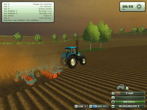 Agrifarm Tillage Set Cultivator + Plow