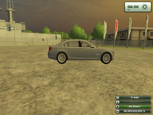 BMW 750 LI 2011 Version 2