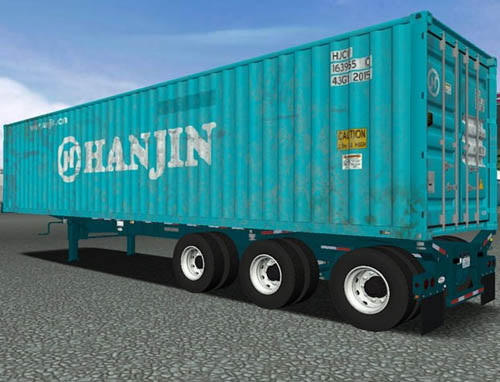 Container Trailer Skin [18 Wos Haulin]