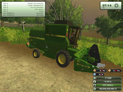 John Deere 1188 Harvester Pack 3