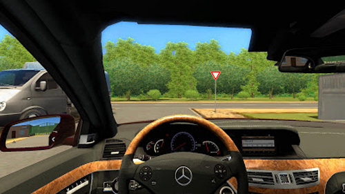 mercedes benz s65 amg 1 2 5 city car driving simulator