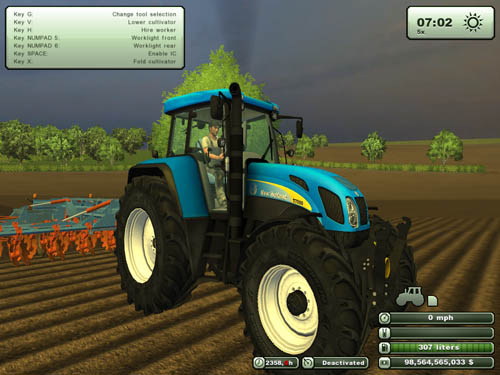 New Holland T7550 2