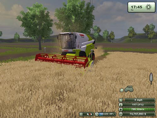 Claas Tucano 440 Harvester Pack