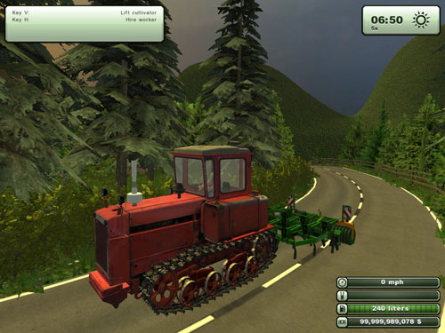 DT75RedPalle Tractor1