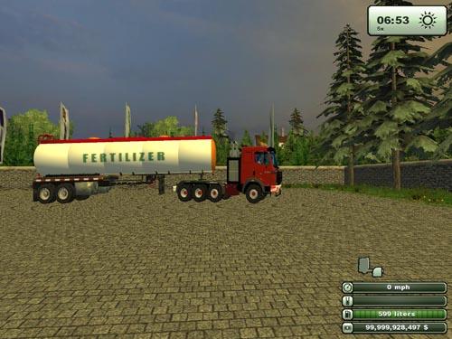Fertilizer Refuel Tanker