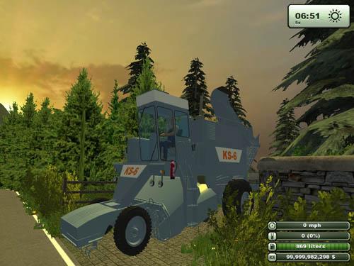 KS 6 Blue Harvester