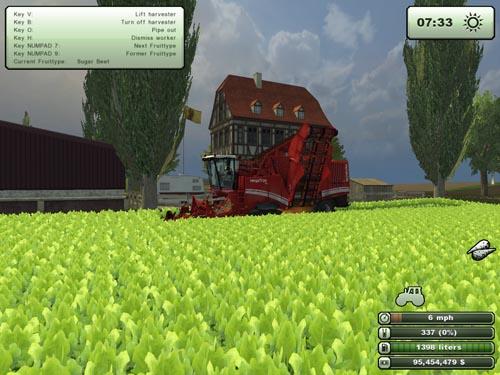 Megatron 50K Multi Fruit Harvester Grimme2