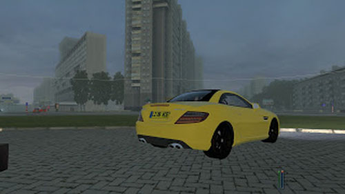 Mercedes Benz SLK 55 3