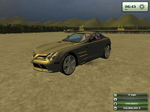Mercedes Benz SLR2