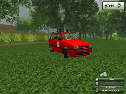 Opel Astra Nef Car 2