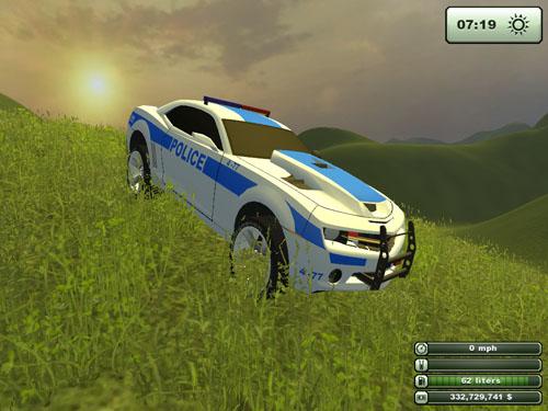 Police Camaro 2