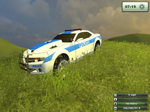 Police Camaro 3