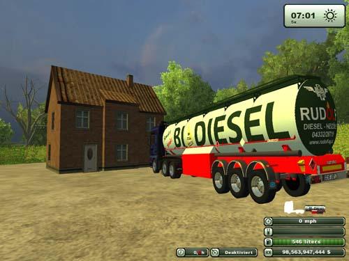 Rudolf Diesel Tank