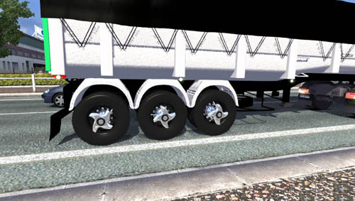 New wheels for trailers by LP 1l
