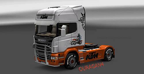 Scania KTM Skin