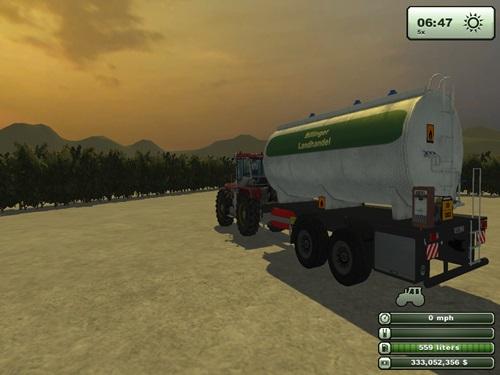 Tandem Diesel Trailer2