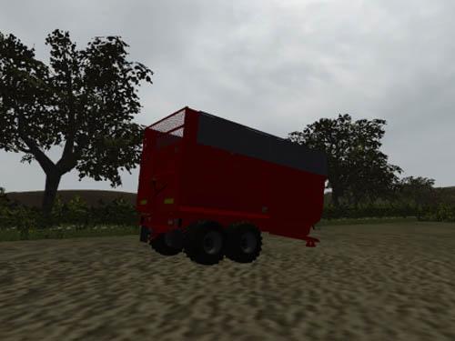 redrock silage trailer