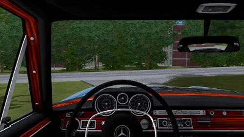 Mercedes benz 300sel 1 2 5 simulator games mods download for Mercedes benz car racing games