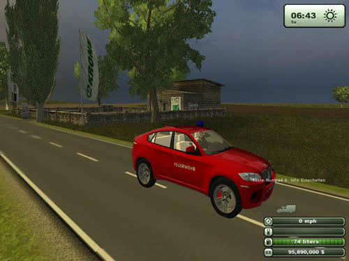 BMWX6MPoliceCar