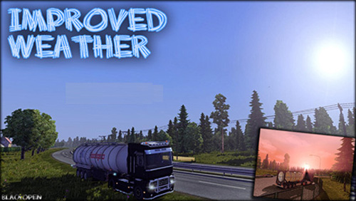 Improved Weather Ets2 Mods Ets2 Other Mods