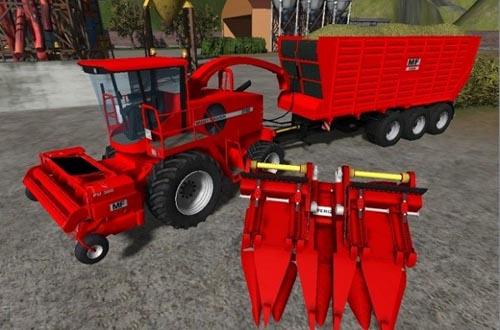 Massey Ferguson Forage Harvester Pack Farming Simulator 2011 Mods Ls2011 Combines Download