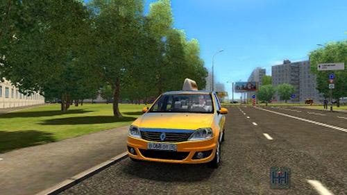 RenaultLoganTaxi