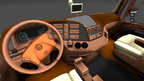 Actros-Brown-Beige-interior-with-navigation