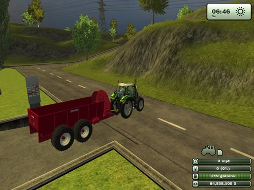 Front Laterally Manure Spreader2