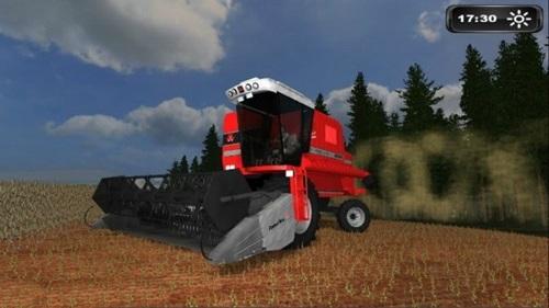 Masey Fergunson 5650 Farming Simulator 2011 Mods Ls2011 Combines Download