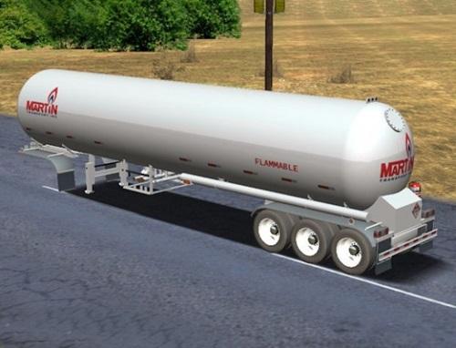 Tri-Axle-Butane-Tanker