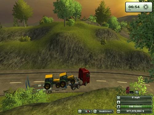 3 Axle Transporter Trailer2