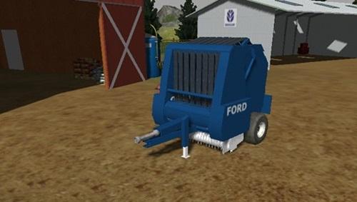 Ford-551-Roundbaler