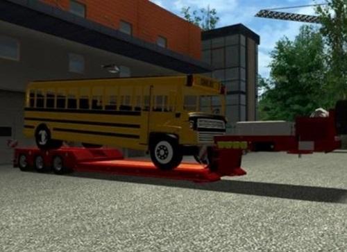 Goldhofer-Bus-Trailer