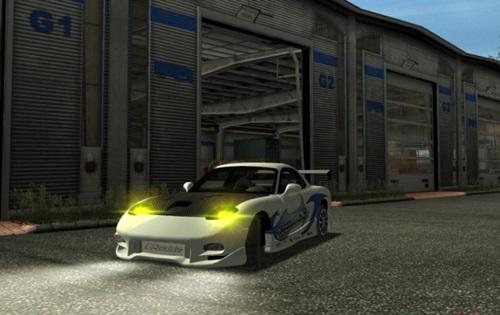 Mazda RX 7 Car German Truck Simulator Mods Gts Cars Download
