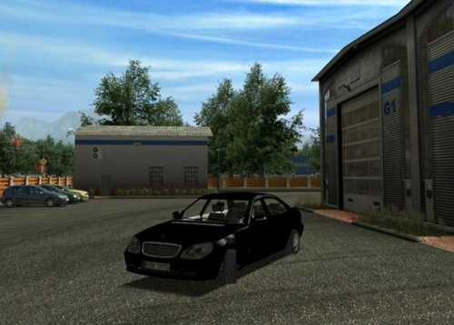 Mercedes S 600 German Truck Simulator Mods Gts Cars Download